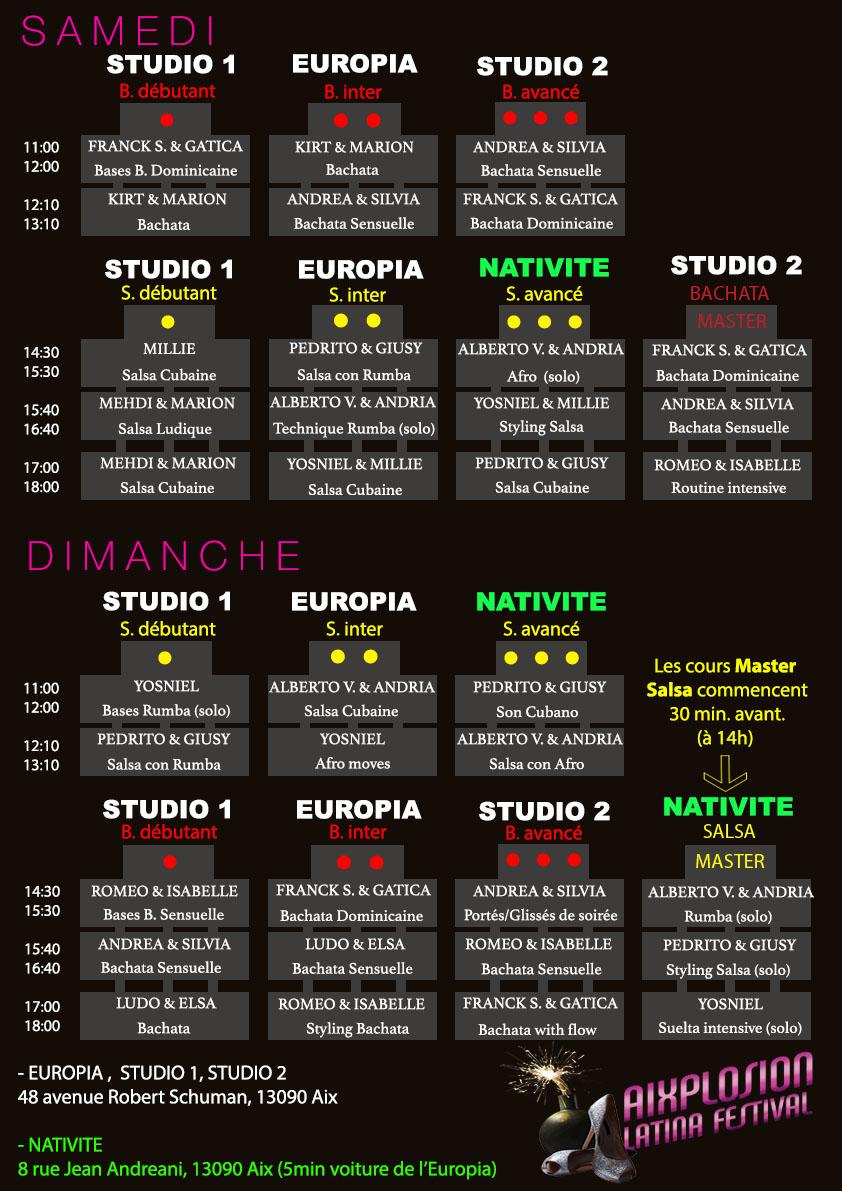 Planning AixPlosion Latina